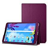 Fintie Case for LG G Pad 5 10.1 FHD, Premium Vegan Leather Folio Stand Protective Cover with Auto Sleep / Wake for 10.1 inch LG GPad 5 LMT600 Tablet (2019) - Purple