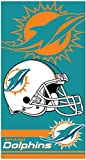 THE NORTHWEST COMPANY Miami Dolphins Double Cover NFL Licensed...