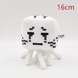 Plush Toy Dolls Plush Toy Sheep Cow Squid Spider Soft Stuffed Animals Kids@Ghast_Black