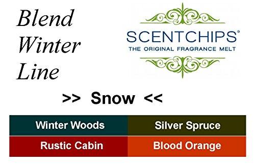 Feste Feiern Duftwachs Scentchips I 12 Teile Snow Edition Winter Line Weihnachten Sojawachs Melts Tards Blätter Duftlampe Aromalampe Diffuser