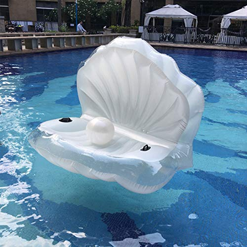 GUTYRE Cama Flotante Inflable, Fila Flotante, con Asa, Super Flotabilidad, Material De PVC, Utilizado para Juguetes De Fiesta