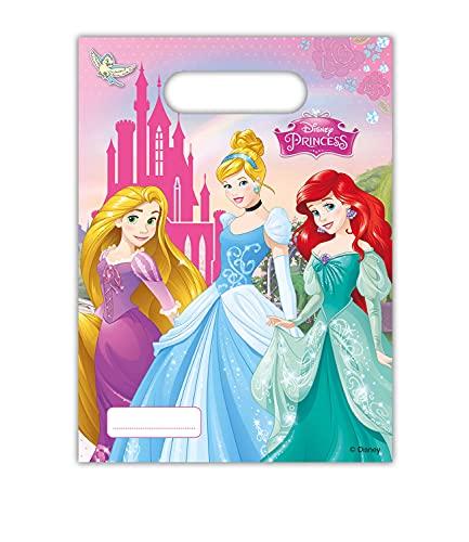Disney 47111princesa Party–Bolsas de fiesta 6ct , color/modelo surtido