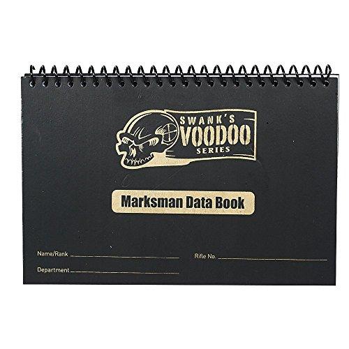 VooDoo Tactical Men's Marksman Data Book, Black