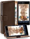moex Klapphülle kompatibel mit Sony Xperia Z1 Compact