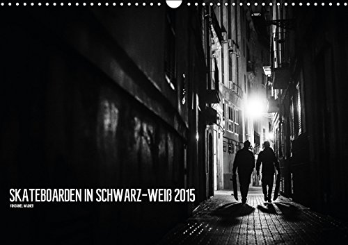 Skateboarden in Schwarz-Weiß (Wandkalender 2015 DIN A3 quer): Schwarz-weiße Skateboardfotografie (Monatskalender, 14 Seiten)