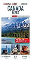 Insight Guides Travel Map Canada West (Insight Travel Maps)