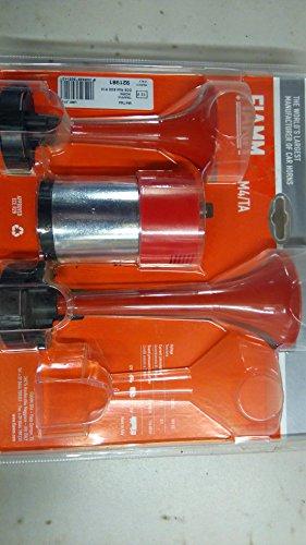 FIAMM 921981Trompeta doble aire cuernos, color rojo