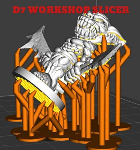 D7 WORKSHOP SLICER - 3D printer software