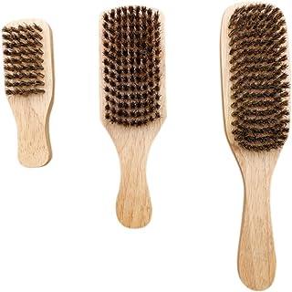 Beaupretty 3 stuks baardverzorgingsset borstelharen baardborstel dubbelzijdig baardverzorgingskwast shampoo borstel borste...