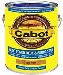 Cabot Deck and Siding Stain Cedar 1 Gl
