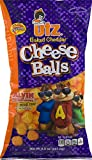 Utz Baked Cheddar Cheese Balls 8.5 oz. Bag (4 Bags)