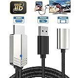 Teléfono a HDMI Cable, DIWUER Versión Mejorada 1080P Adaptador AV Digital Cable, Adaptador MHL a...