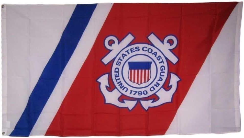 MWS 3x5 Sale item USCG United States Coast Anchors Seal Crest Guard Emblem [Alternative dealer]