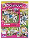 Magazin Playmobil Pink 7/2020 - Póster de cómic y figura extra de caballo Knabstrupper