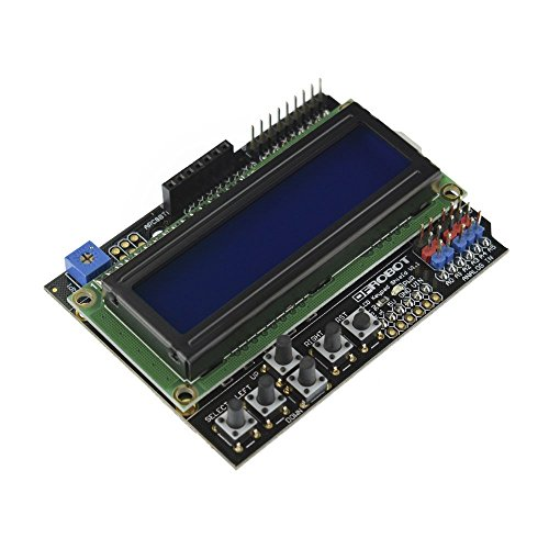 DFROBOT Gravity: 1602 LCD Keypad Shield For Arduino
