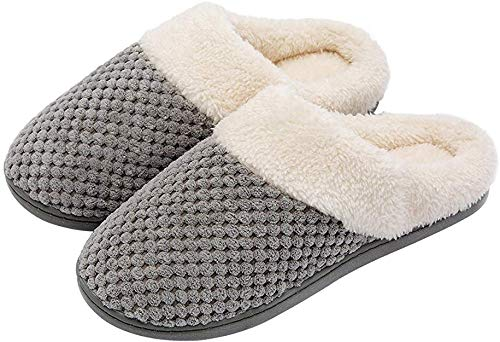 ULTRAIDEAS Women's Slip-on Memory Foam Indoor Slippers