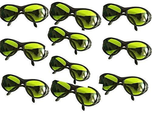 10pcs 200nm-2000nm IPL Laser Protection Goggles Safety Glasses OD5+ CE UV400 BP-6006.