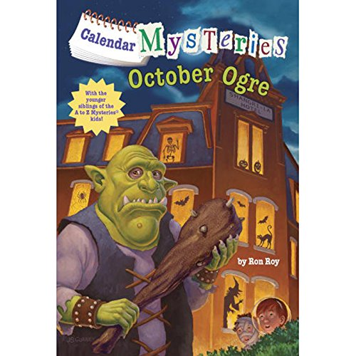 October Ogre audiobook cover art