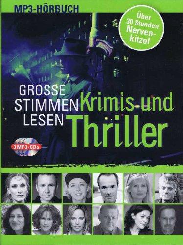Große Stimmen lesen: Krimis und Thriller - MP3-Hörbuch (3 CDs)