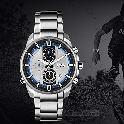 FENKOO TVG Armbanduhren TVG Uhr Herrenuhr leuchtende Sport wasserdichte Herrenuhr (Color : 2)