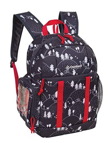 Outdoor Products Unisex-Erwachsene Jackalope Tagesrucksack, Fox & Pine – Graphit, One Size*