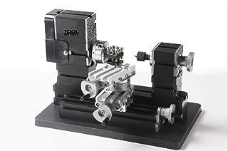 60w 12000rpm De alta potencia tornos de metal en miniatura TZ20002MR,Para trabajar la madera, máquinas herramientas, herramientas de bricolaje, estudiante regalos de los niños