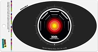 Graphics and More 2001: A Space Odyssey Hal Automotive Car Refrigerator Locker Vinyl Euro Oval Magnet