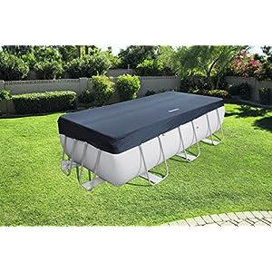Bestway 58232 – Cubierta para piscina de estructura splash 404 × 201 cm / 412 × 201 cm, medidas de cobertor 3.96 m x 1…