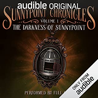 The Darkness of Sunnypoint audiobook cover art