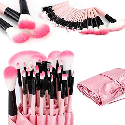 GCY Make Up Pinsel 10 Liquid Foundation Blush Makeup Pinsel Sets Blush Lidschatten Concealer Lip Eye Makeup Pinsel Cosmetic Beauty Tool-07