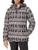 Burton Womens Rubix Shell Jacket, True Black Mojave, Medium