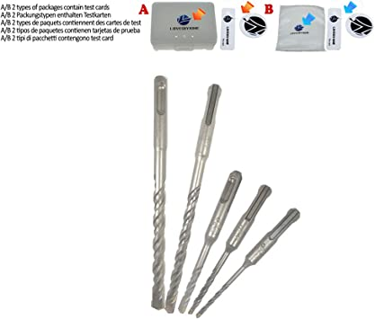 Masonry drill bit hardened steel tungsten carbide tip 5.5mm brick stone concrete