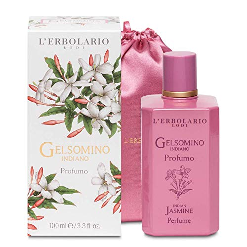 L'Erbolario L 'erbolario 066.139indischen jasmin limited edition parfüm mit baumwolle tasche