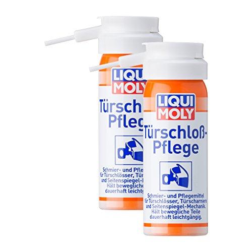2x LIQUI MOLY 1528 Türschloss-Pflege LM Enteiser Spray 50ml
