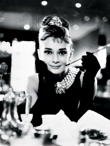 Audrey Hepburn Leinwanddruck, Mehrfarbig, 60 x 80 cm