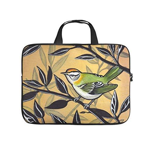 Vintage Tree Bird Parrot 3D Print Laptop Bag Protective Case Water Resistant Neoprene Laptop Sleeve Case Sizes Available