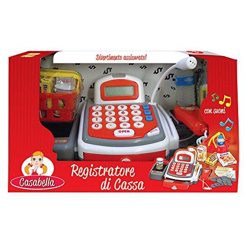 Rocco Giocattoli 21580534 - Casabella Registratore di Cassa con Luci, Suoni e Accessori
