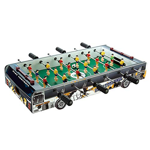 Great Deal! Foosball Table Compact Mini Soccer Competition Tabletop for Adults and Kids for Game Roo...