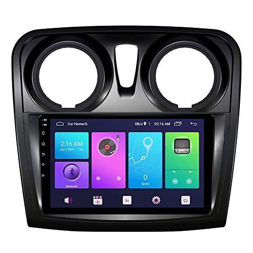 XXRUG Android Car Stereo Sat Nav para Renault Logan Sandero Duster 2012-2018 Unidad Principal Sistema de navegación GPS SWC 4G WiFi BT USB Mirror Link Carplay Integrado