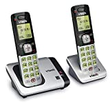 VTech CS6719-2 2-Handset Expandable Cordless Phone with Caller ID/Call Waiting, Handset Intercom & Backlit...