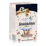Goldmännchen Estrella de Calendario de Adviento, 24 Tipos de té, Sobres de té, Navidad.