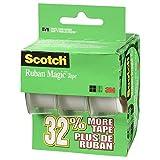 Scotch 3105 3/4' x 300' Scotch Magic Tape 3 Pack