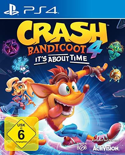 ACTIVISION Blizzard Crash Bandicoot 4: It`s About Time Playstation 4 Básico Alemán, Inglés Blizzard Crash Bandicoot 4: It`s About Time, Playstation 4