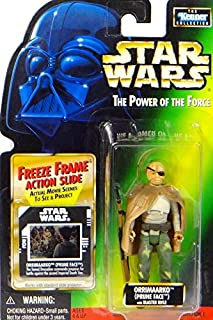 Star Wars Return of the Jedi Power of the Force POTF2 Kenner Collection Orrimaarko (Prune Face) Action Figure