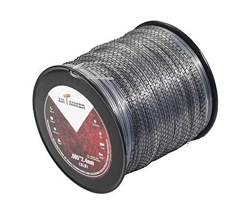 """Antanker Magnum .095"""" Trimmer Line 1354 inch Commercial String Trimmer Line"""