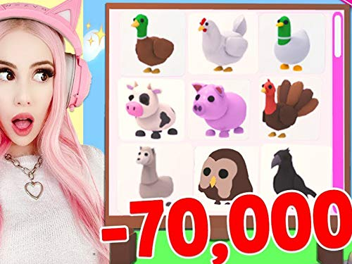 Clip: I Spent 70,000 Robux To Get All The New Farm Pets In Adopt Me! Brand New Farm Egg Update Adopt Me