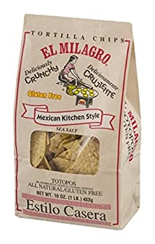 El Milagro Mexican Kitchen Style Gluten Free Tortilla Chips 16 oz  Pack of 3