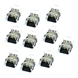 2 Pin LED Connector for Non-Waterproof SMD3528 LED Strip Light, glo-shine NewStyle 10pack Strip to Strip Quick Connection,Applicable for 8mm Width Non-Waterproof 3528 Strip Light
