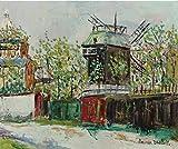 Berkin Arts Maurice Utrillo Giclee Auf Leinwand