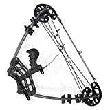 SHARROW Compoundbogenset Jagdbogen 45lbs Dual-Zweck Sportbogen Katapult Stahl Ball Compound Bögen...